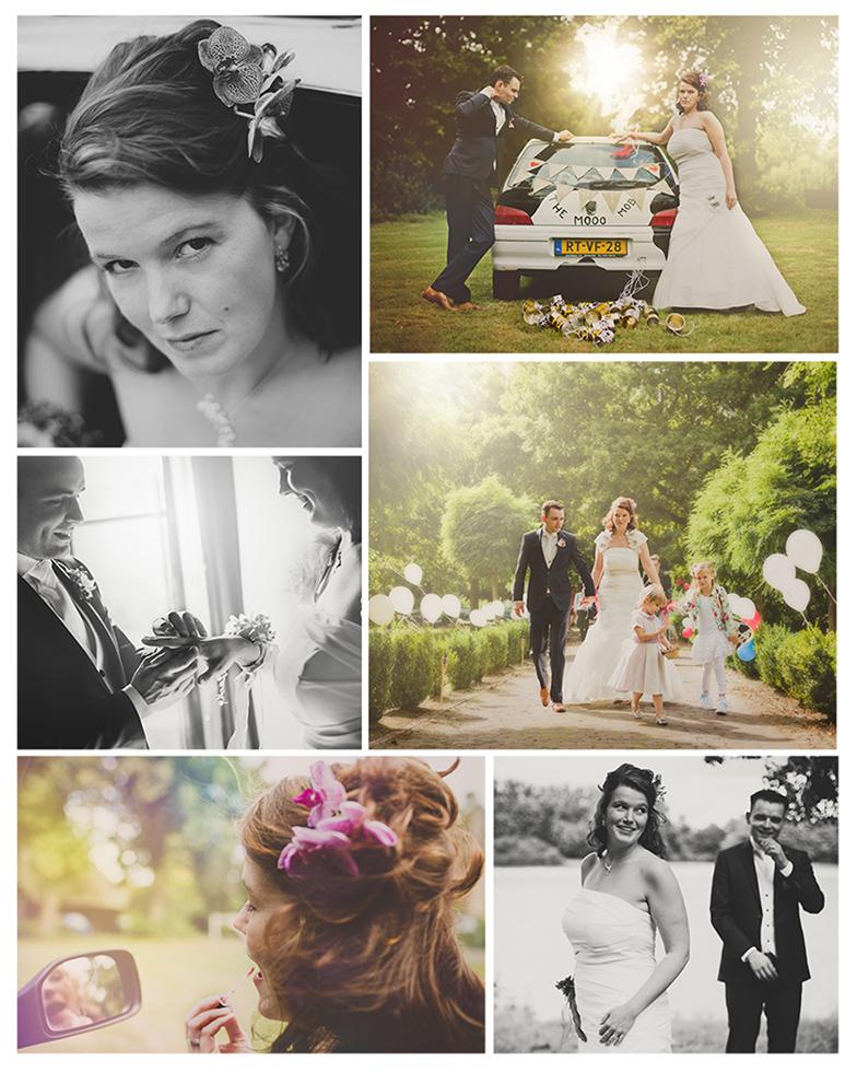 bruidsfotografie huwelijk apeldoorn bruidsreportage vintage fotograaf gelderland loveshoot