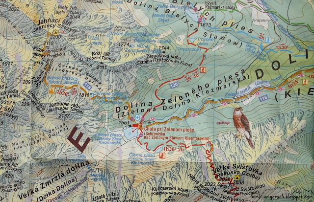 Zielony Staw Kiezmarski na mapie