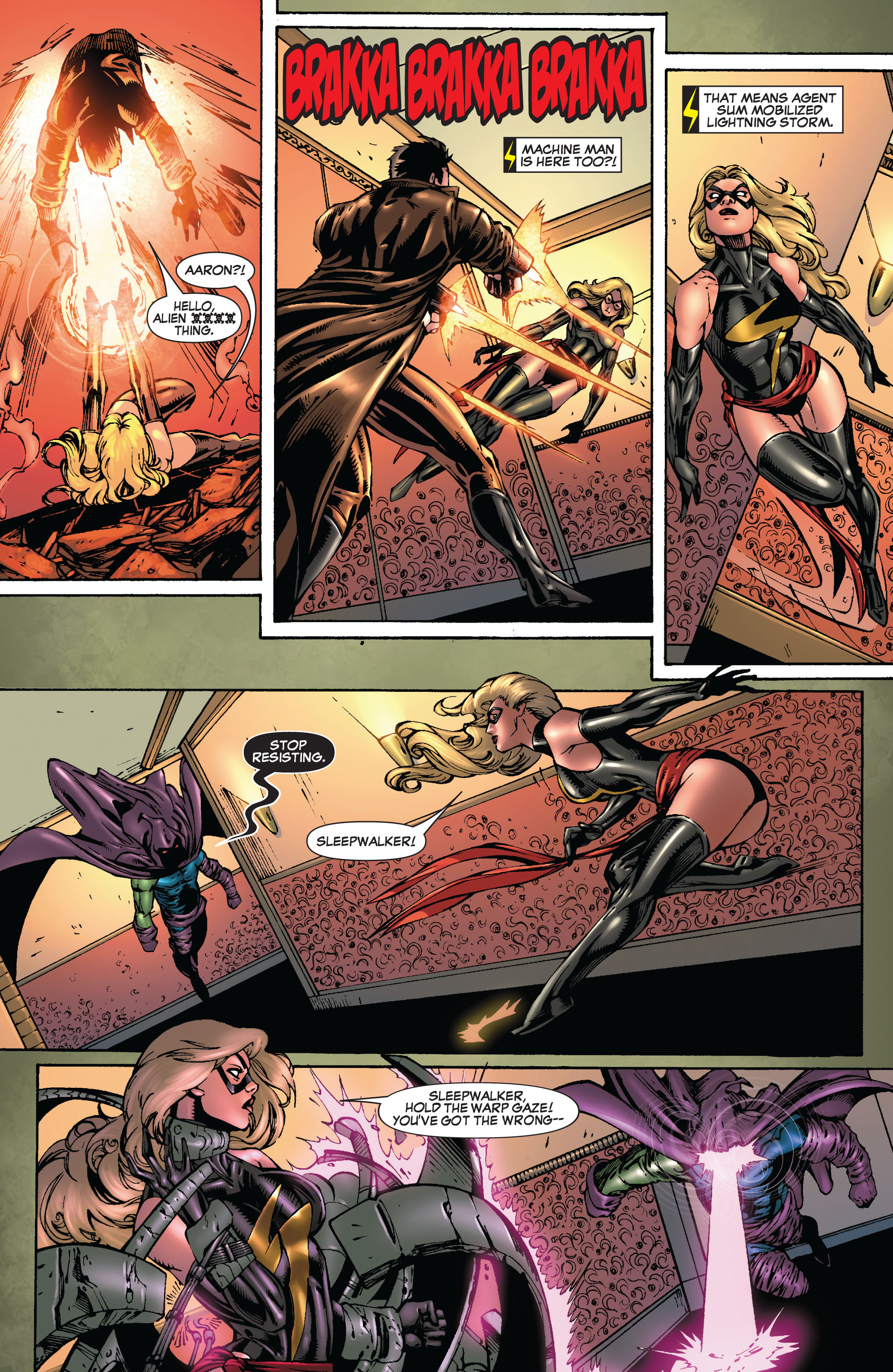 Read online Secret Invasion: The Infiltration comic -  Issue #9 - 7