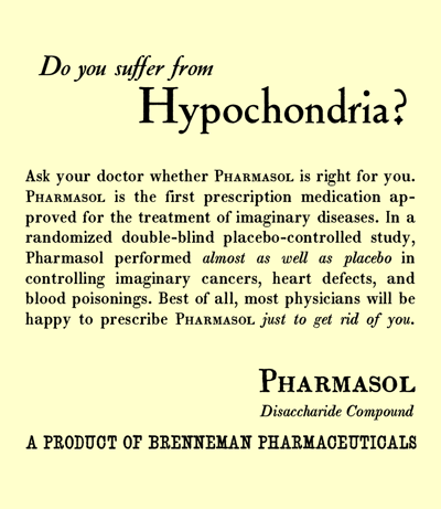 how to stop hypochondria thoughts