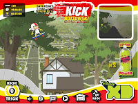    |  kick buttowski game