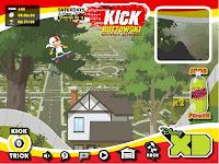 لعبة كيك وتاوسكي |  kick buttowski game