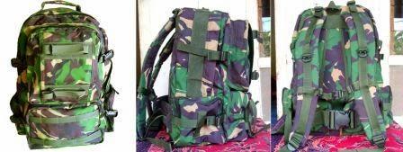 Jual Tas Ransel Army Tas Militer Tas Lebanon