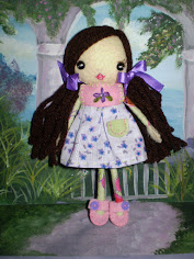 Skinny Mini Felt Doll Pdf ePattern