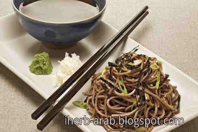 شكل السوبا اليابانية