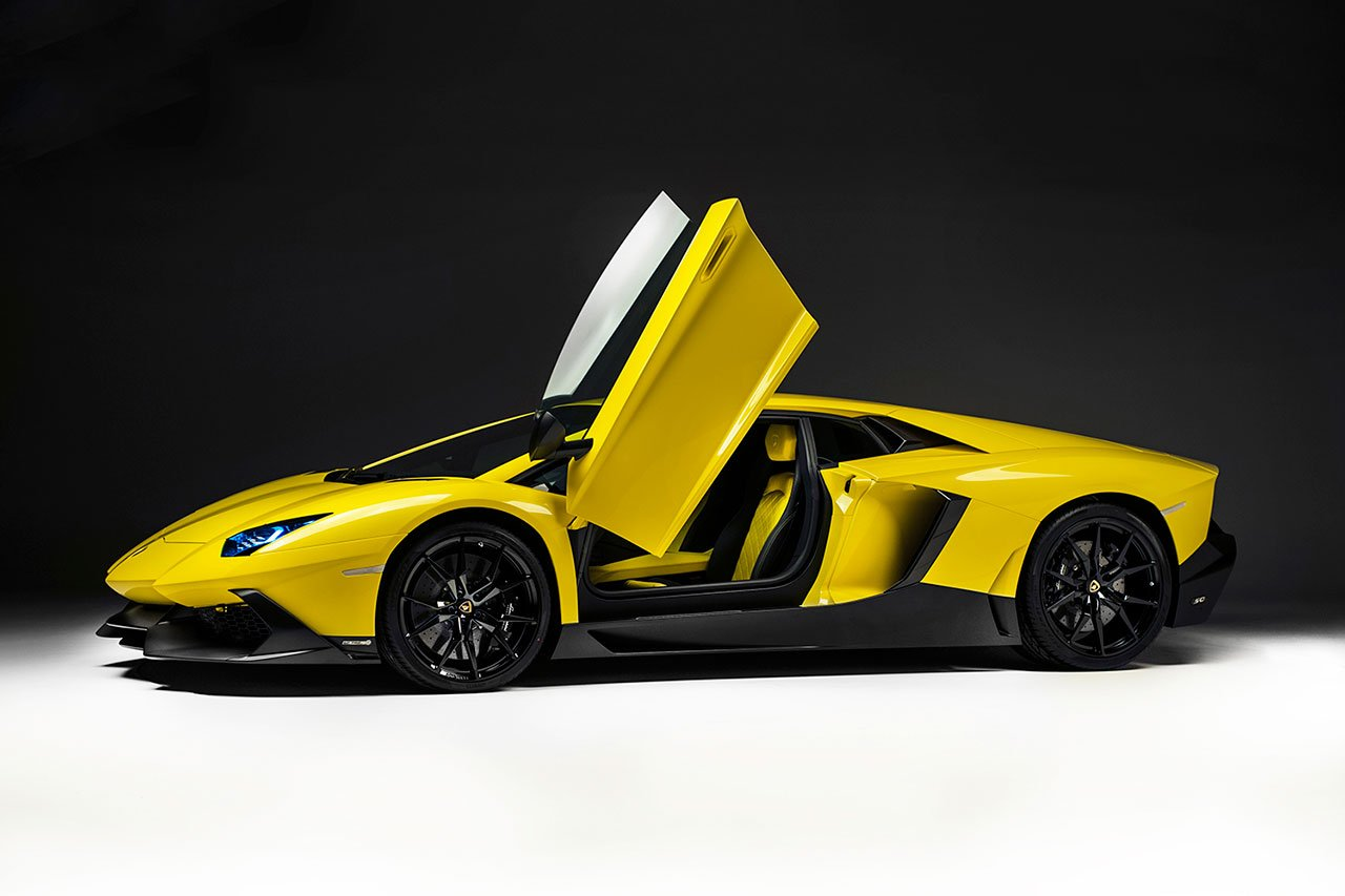 Lamborghini Aventador LP720-4 50 Anniversario Edition ( Lamborghini Aventador LP720-4 50 Anniversario Edition Price to be announced ) The New Lamborghini Aventador LP720-4 50 Anniversario will be limited to 100 cars and The Aventador LP720-4 50 Anniversario has been revealed prior