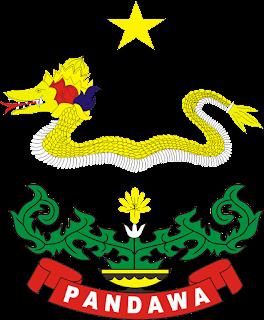 Logo Yonif 411 Pandawa