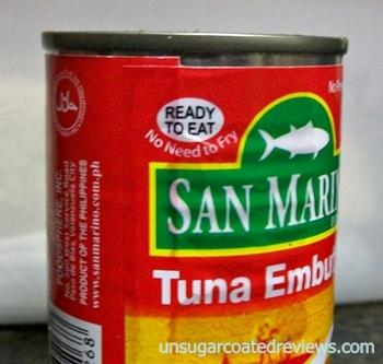 San Marino Tuna Embutido ready to eat