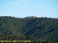 El Santuari de la Mare de Déu d'Argimon del terme veí de Riudarenes