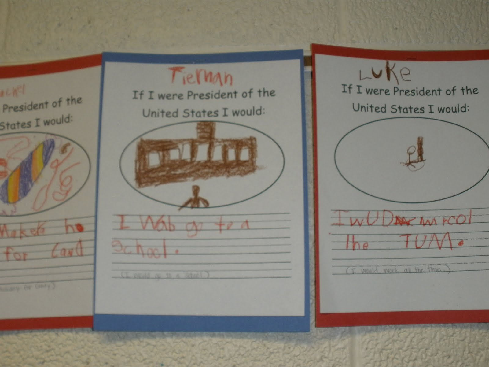 if i were president essay kindergarten What would i do if i were president i hope barack obama gets this essay by yulisa r if i were president of the united states my major concern would.