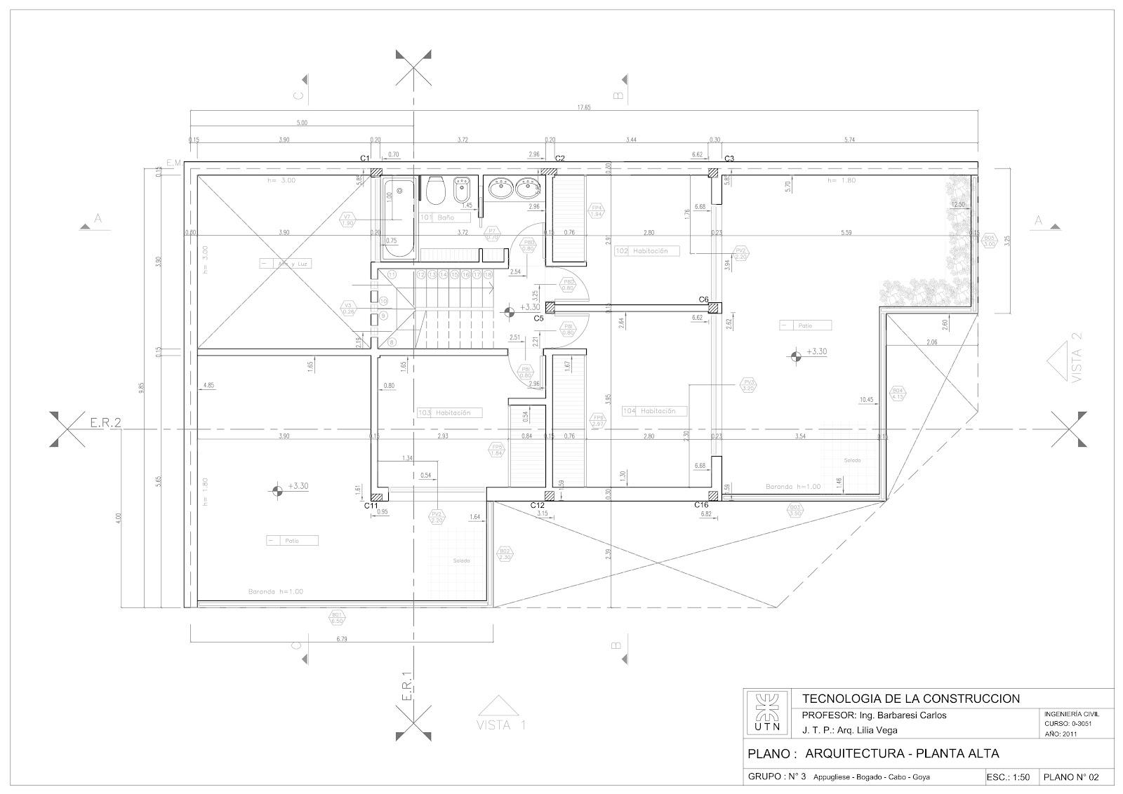 Detalles constructivos cad plano replanteo arquitectura y for Estructura arquitectura