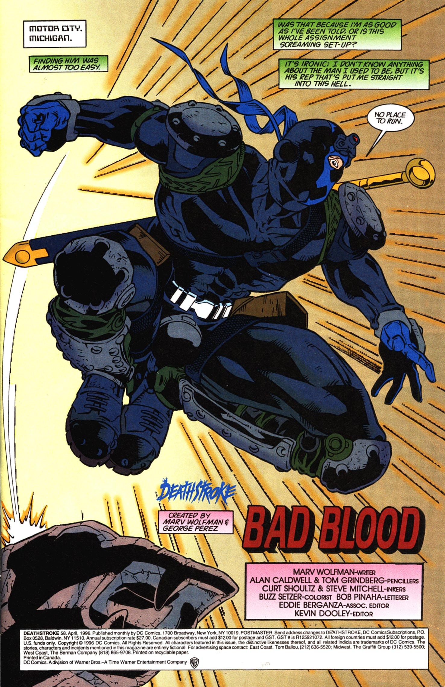 Deathstroke (1991) Issue #58 #63 - English 2