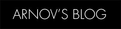 Arnov's Blog