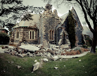 St. John's Anglican Church Bell Tower Destroyed
