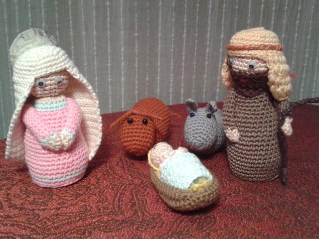 Amigurumi Cactus Lanas Y Ovillos : MANOSOBREMANO: Belen amigurumi . Lanas y ovillos
