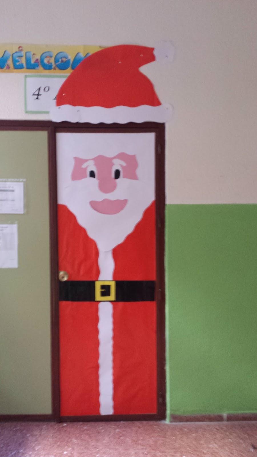 Ceip virgen del carmen decoraci n de puertas navide as en - Decoracion para puertas ...
