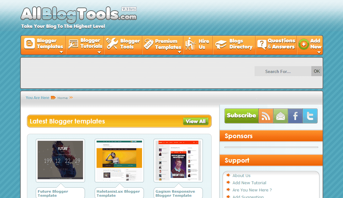All Blog Tools
