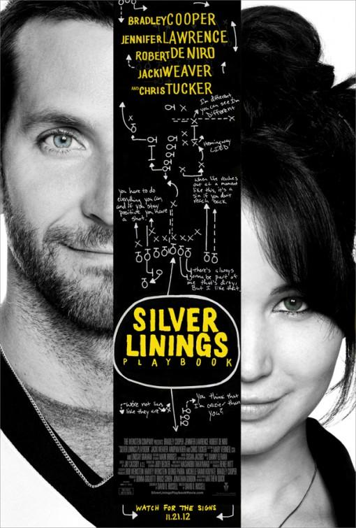  Silver Linings Playbook  cartel poster online en espaol gratis 