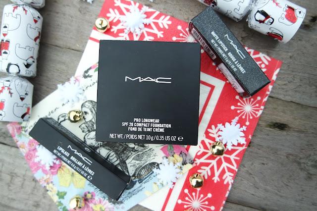 MAC Sparks Of Romance, Pro Longwear Foundation and Morange