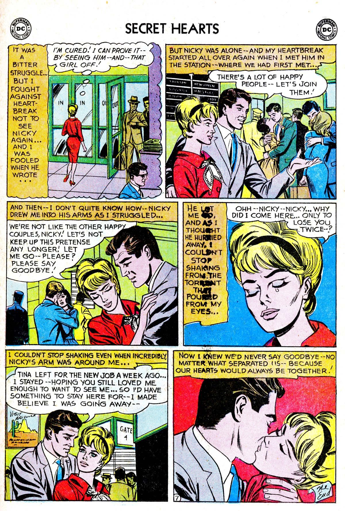 Read online Secret Hearts comic -  Issue #85 - 9