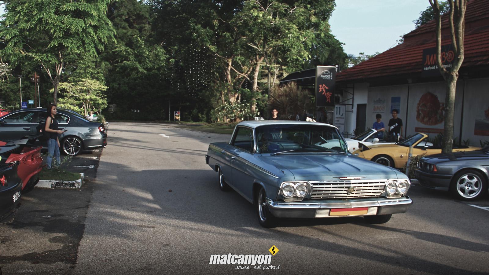 Mat Canyon Cars And Kopi Singapore Christmas Meet