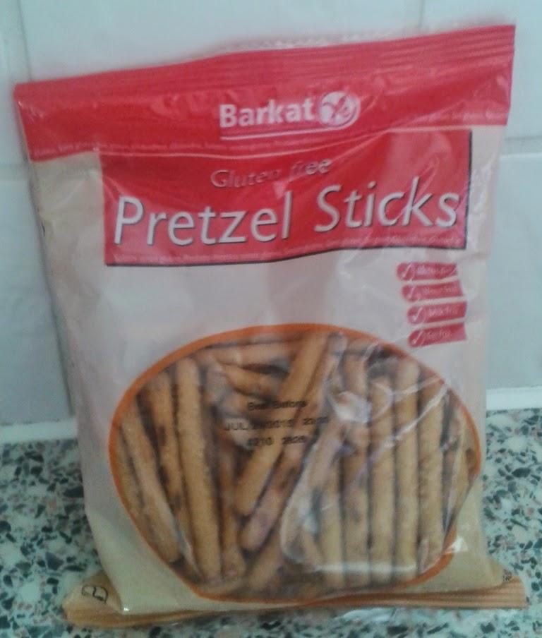 Gluten Free Pretzel Sticks by Barkat