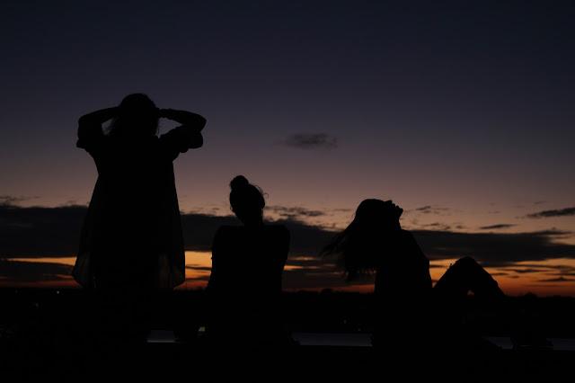 sunset with friends buffalo new york
