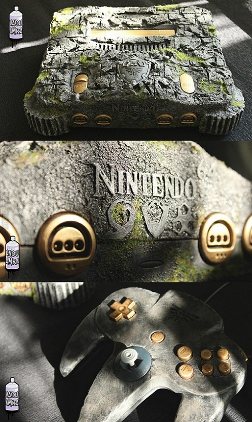 nintendo 64 estilo ocarina of time