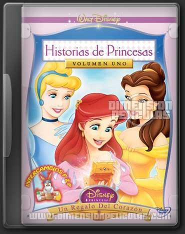 Historias de Princesas Vol.1-2-3 (DVDRip Español Latino)