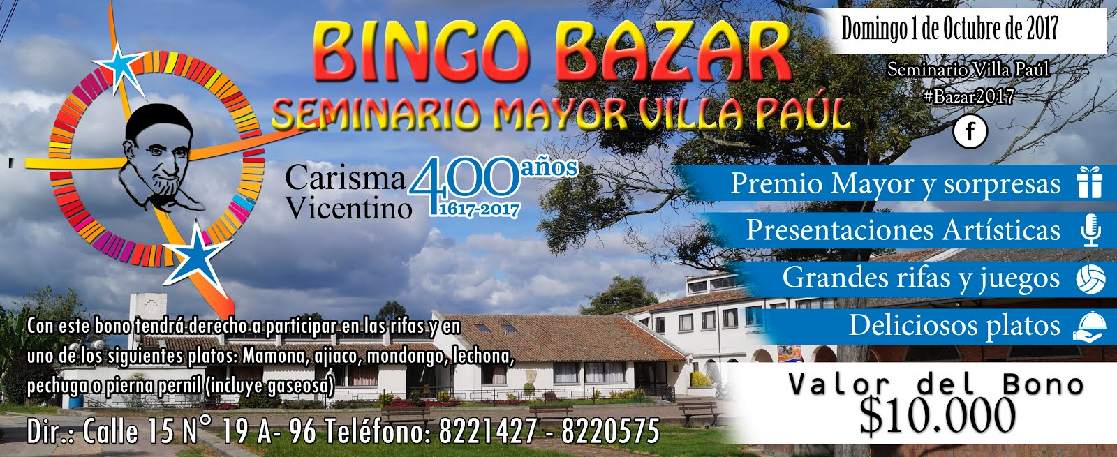 Participa en Familia- Bingo Bazar 2017