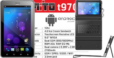 Spesifikasi Tablet Android Mito T970