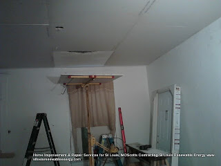 Drywall Installation on Benton Project-Scotts Contracting St Louis MO