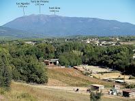 El Montseny des del Camí de Sant Hilari