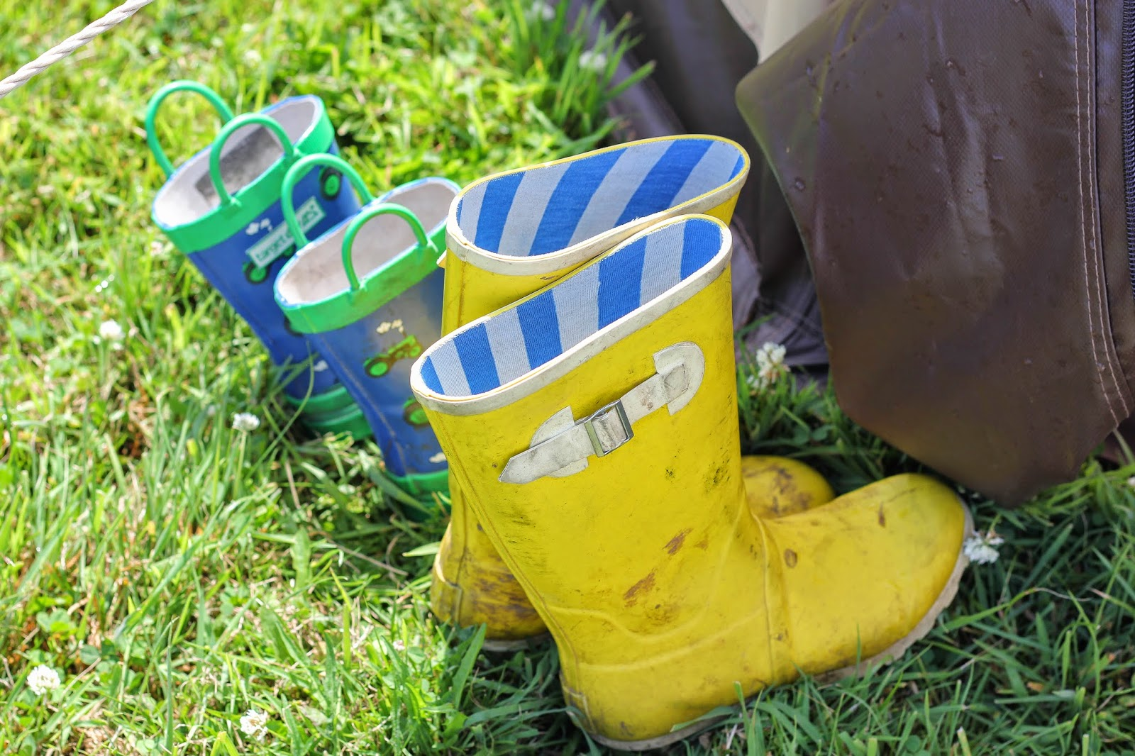 camping wellies