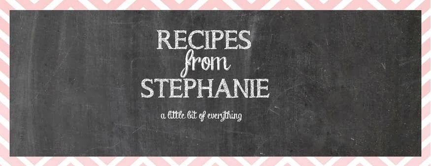 Recipes from Stephanie
