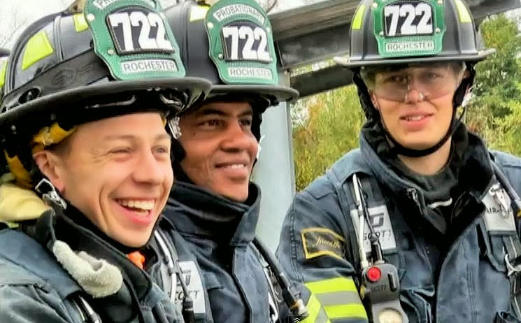 rochester fire department recruits
