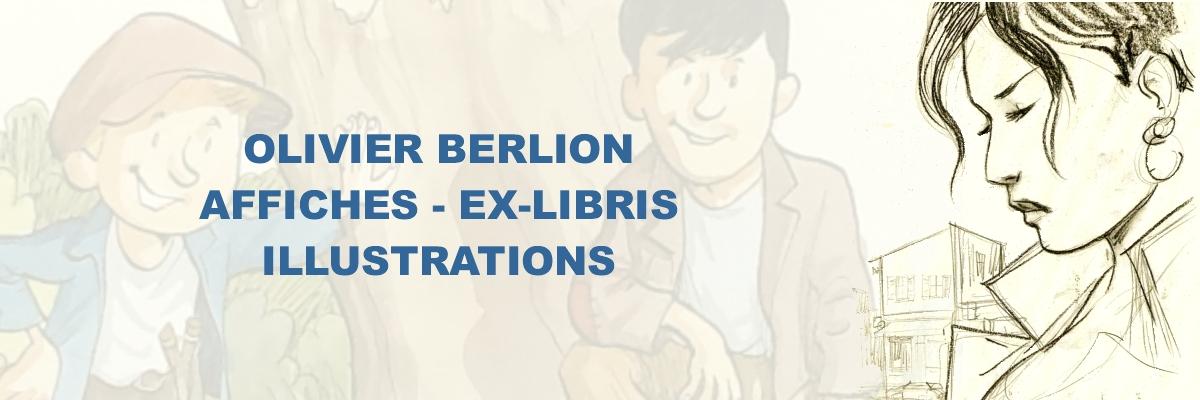 Olivier Berlion - Affiches - Ex-libris