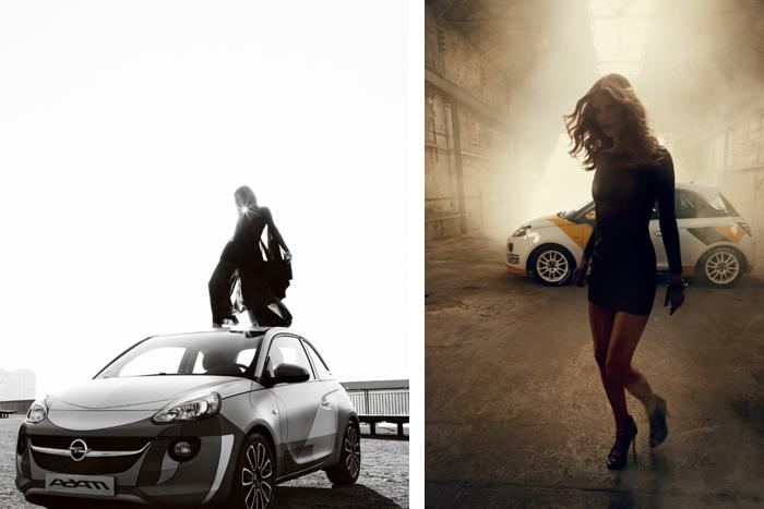 Bryan Adams presenta el Opel Adam