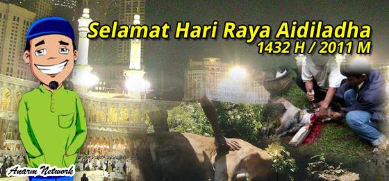 Selamat Hari Raya Aidiladha 1432H / 2011M