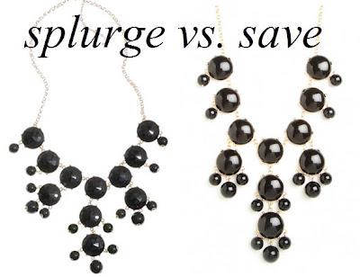 bubble necklace, j.crew necklace, baublebar necklace, statement necklace