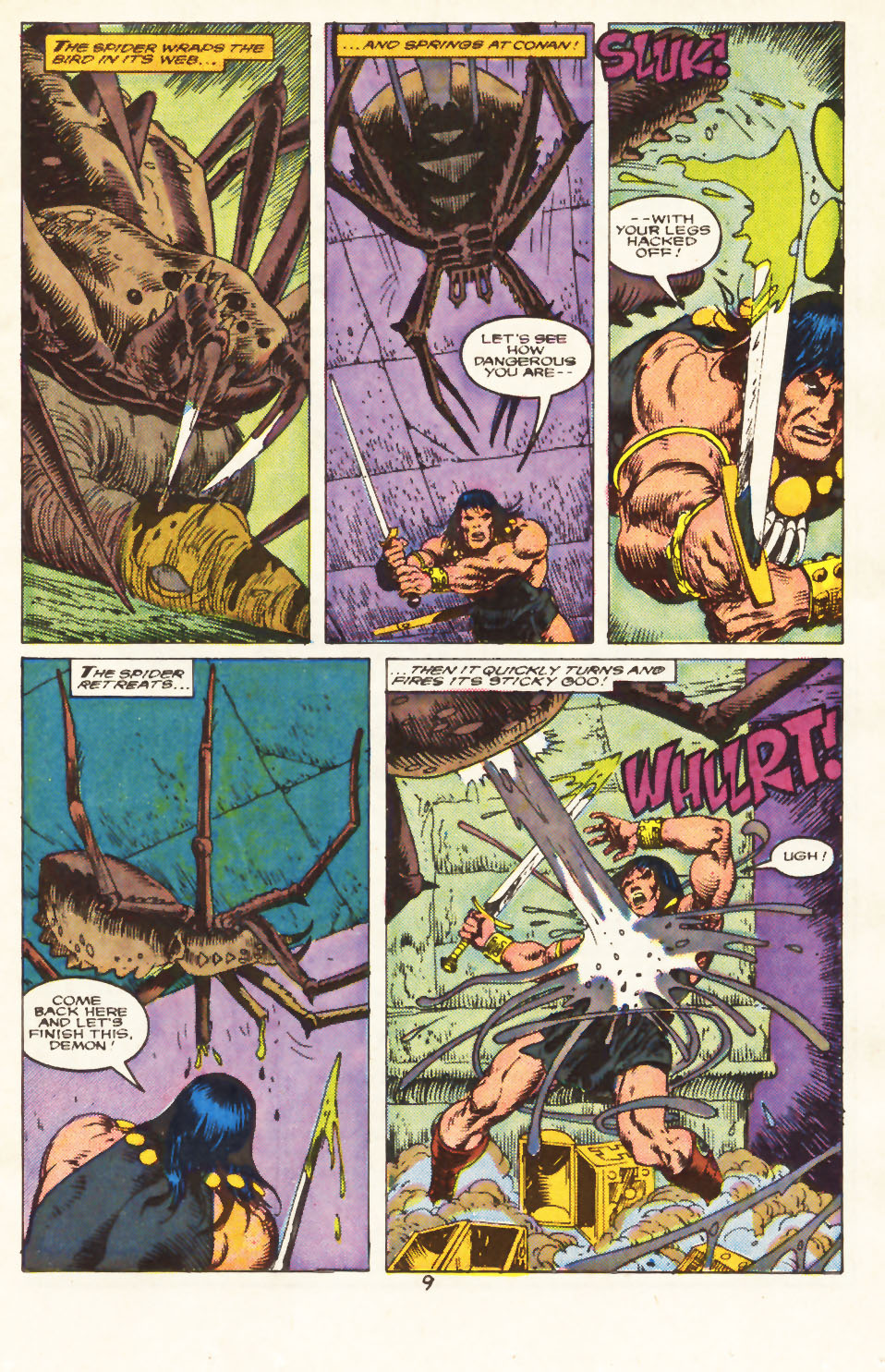Conan the Barbarian (1970) Issue #217 #229 - English 8