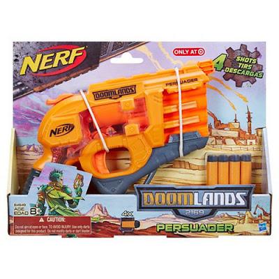 TOYS : JUGUETES - NERF Doomlands 2169  Persuader | Blaster | Pistola  Producto Oficial 2015 | Hasbro B4949 | A partir de 8 años    Comprar en Amazon España | Buy Amazon USA