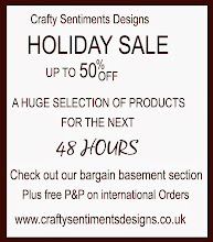 Crafty Sentiments Designs Sale!