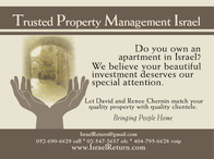 Your Property Manager in Israel