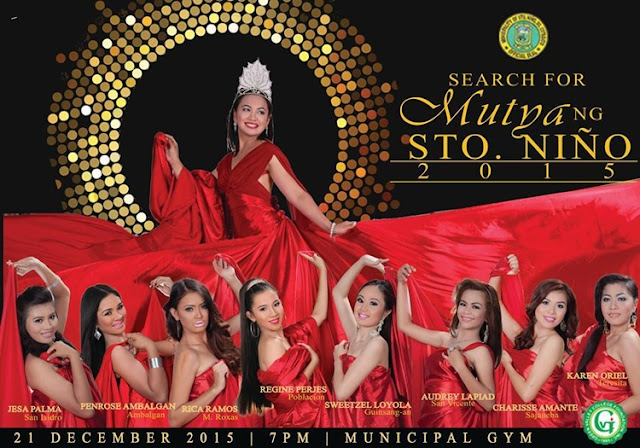 Meet the 8 candidates for Mutya ng Sto. Niño 2015
