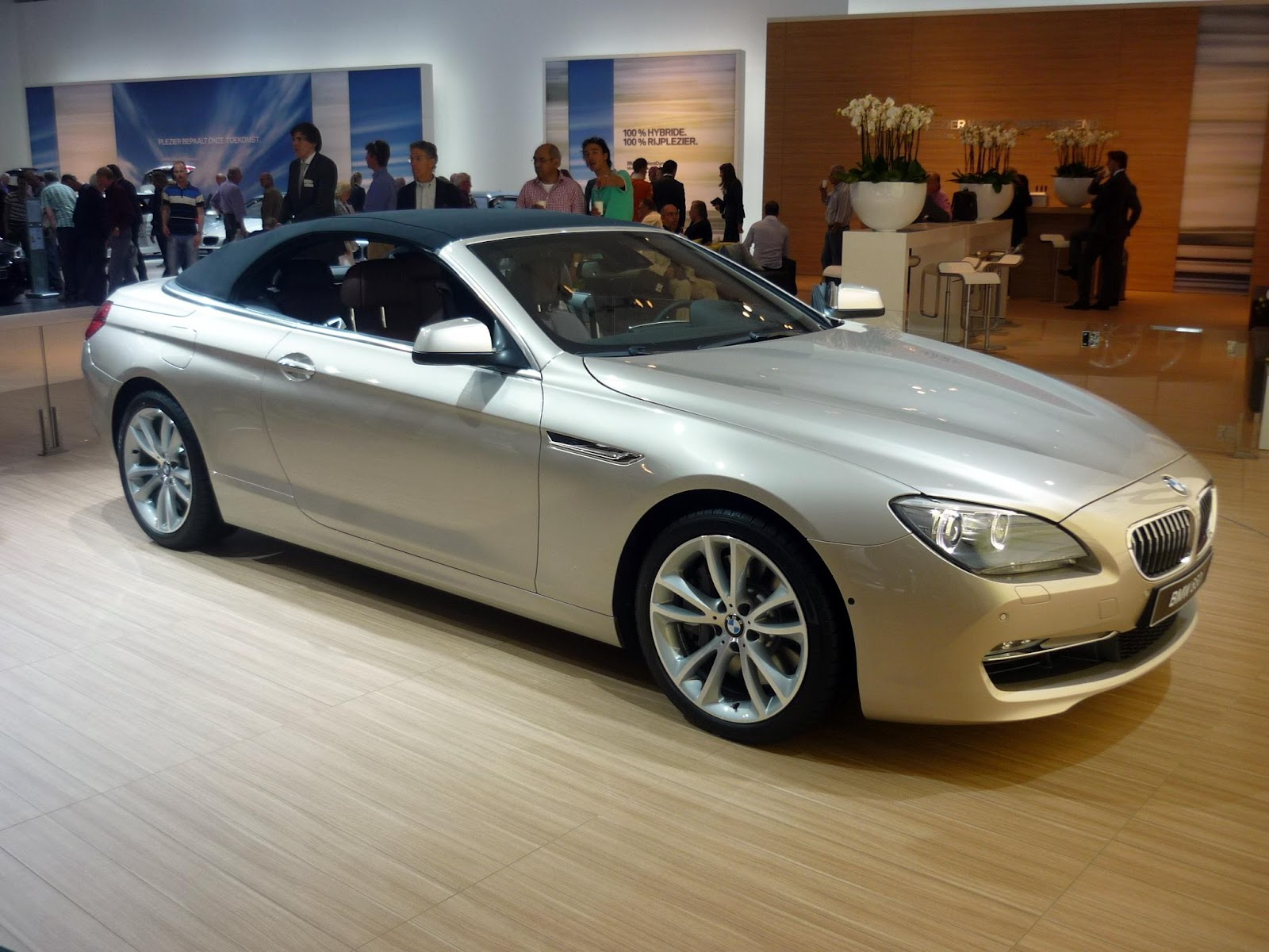 new BMW 650 Convertible