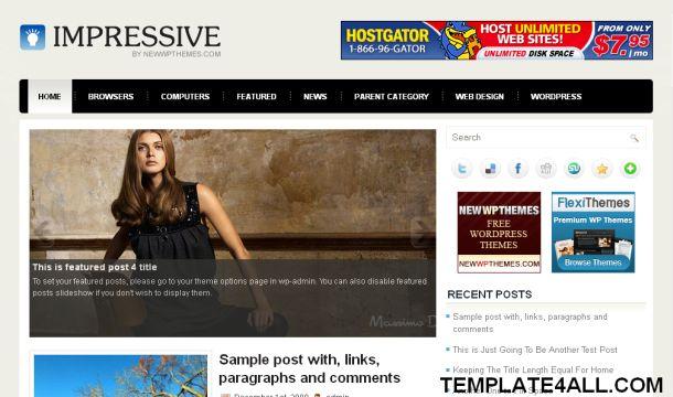 Free Celebrities Blue World Wordpress Theme