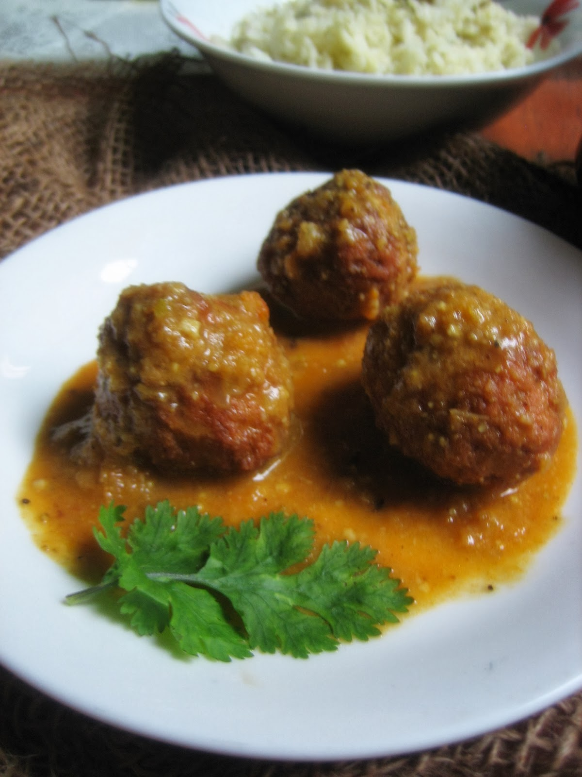 lauki/ bottle gourd kofta curry 2