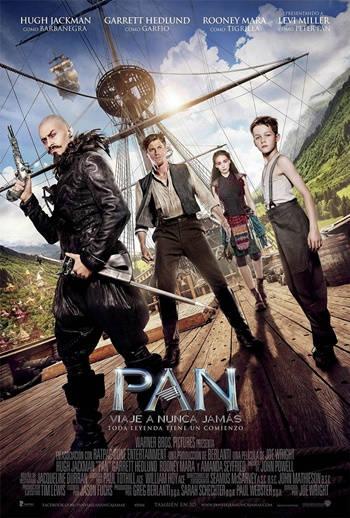 Peter Pan (2015) DVDRip Latino