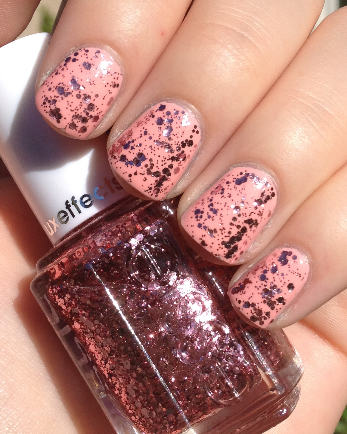 Shelby's Swatches: Essie A Cut Above & Van D'Go Essie A Cut Above Alone